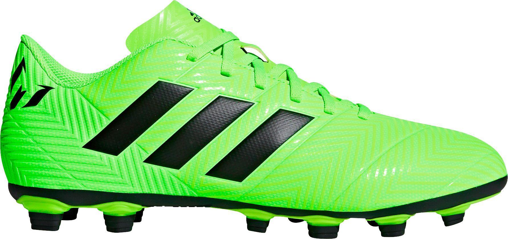 6c1c9990d92 adidas Men s Nemeziz Messi 18.4 FXG Soccer Cleats