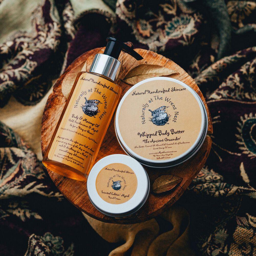 Gold, Frankincense & Myrrh Gift Set Frankincense myrrh