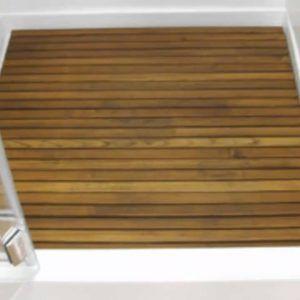 Teak Wood Shower Floor Insert