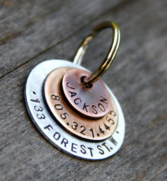 Best 25+ Custom pet tags ideas on Pinterest | Dog tags for ...