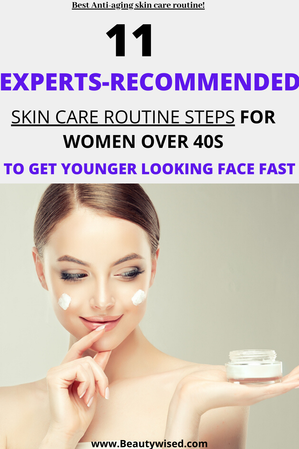 Your Ultimate Daily Weekly Monthly Anti Aging Skincare Routine For 40s Women And Beyond Skin Care Routine Best Skin Care Routine Night Skin Care Routine