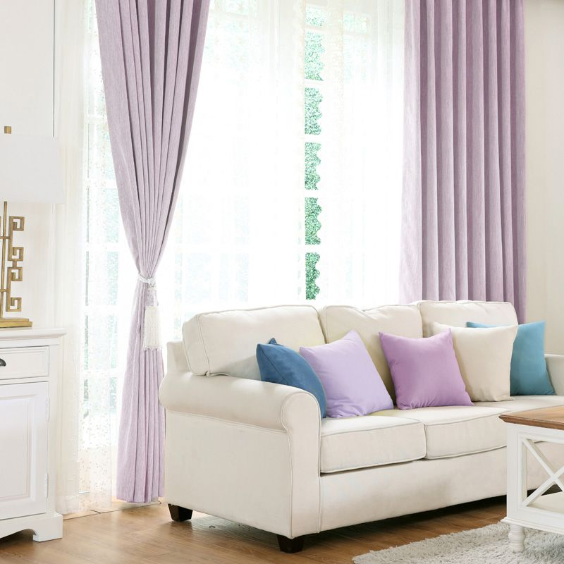 purple living room curtains blackout window curtains for living room thick purple 14684