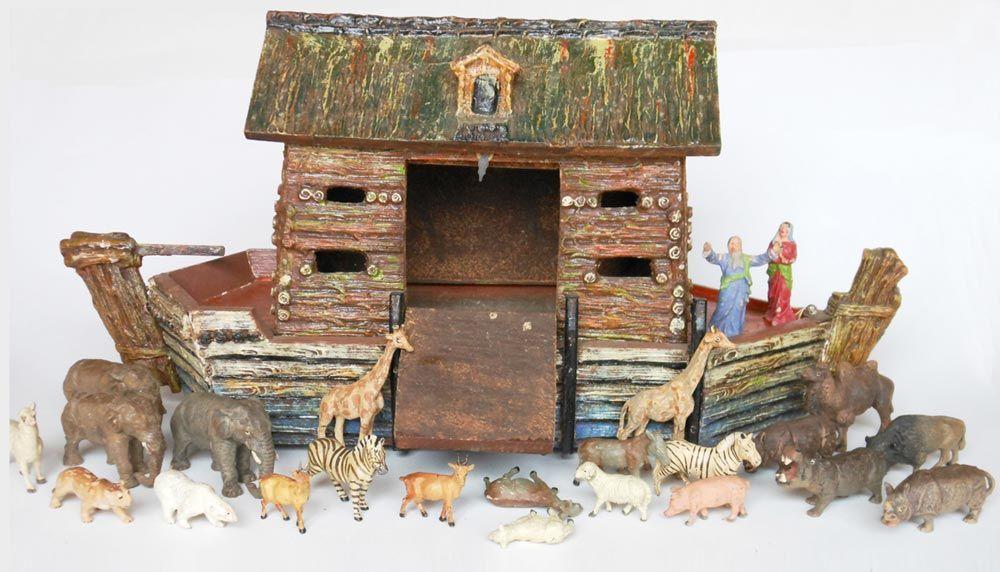 Vintage Noah S Ark Set Bing Images Noahs Ark Ark Old Toys