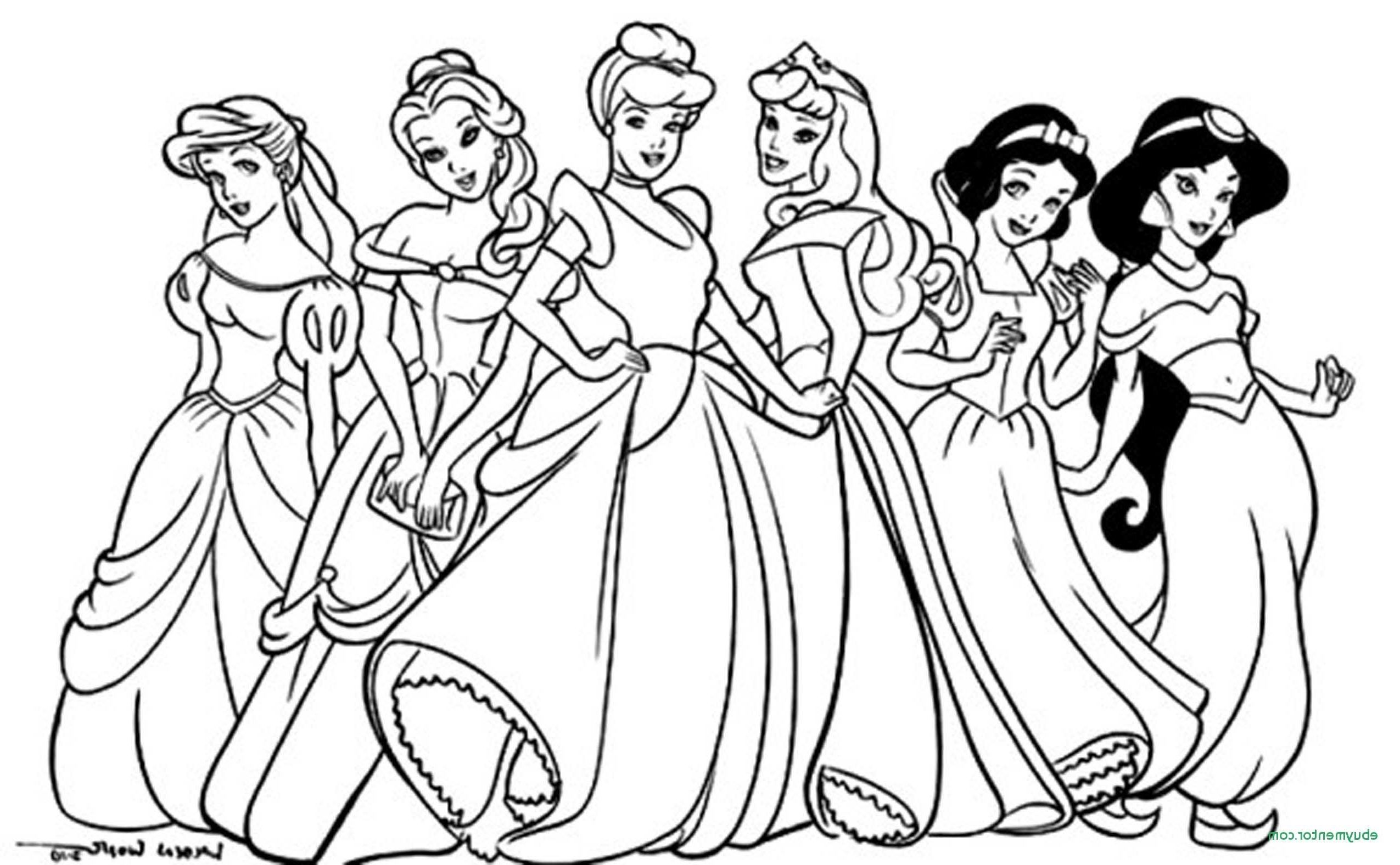 Free Disney Princess Coloring Pages