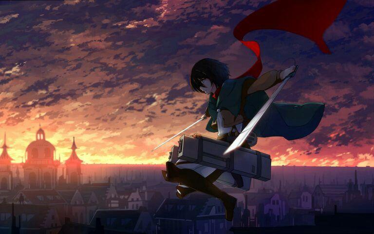 Anime Sunset Anime Sunset Sky Wallpapers Kawaii Art
