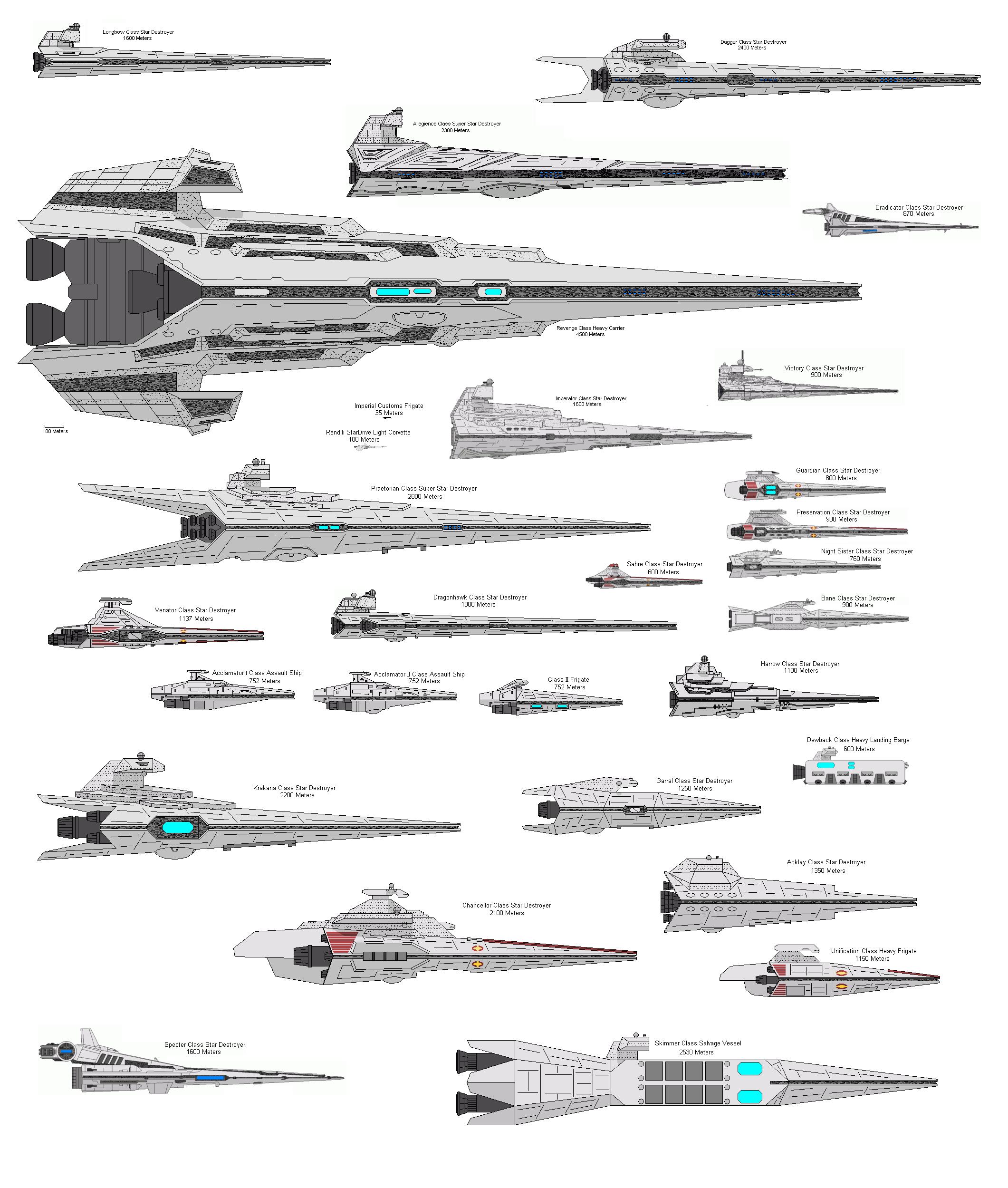 star destroyer enterprise size comparison - photo #29