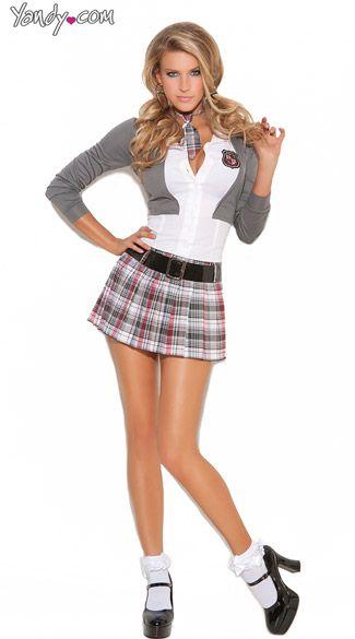 7da7192d825 Queen Of Detention Costume, Private Schoolgirl Costume, Sexy Schoolgirl  Uniform