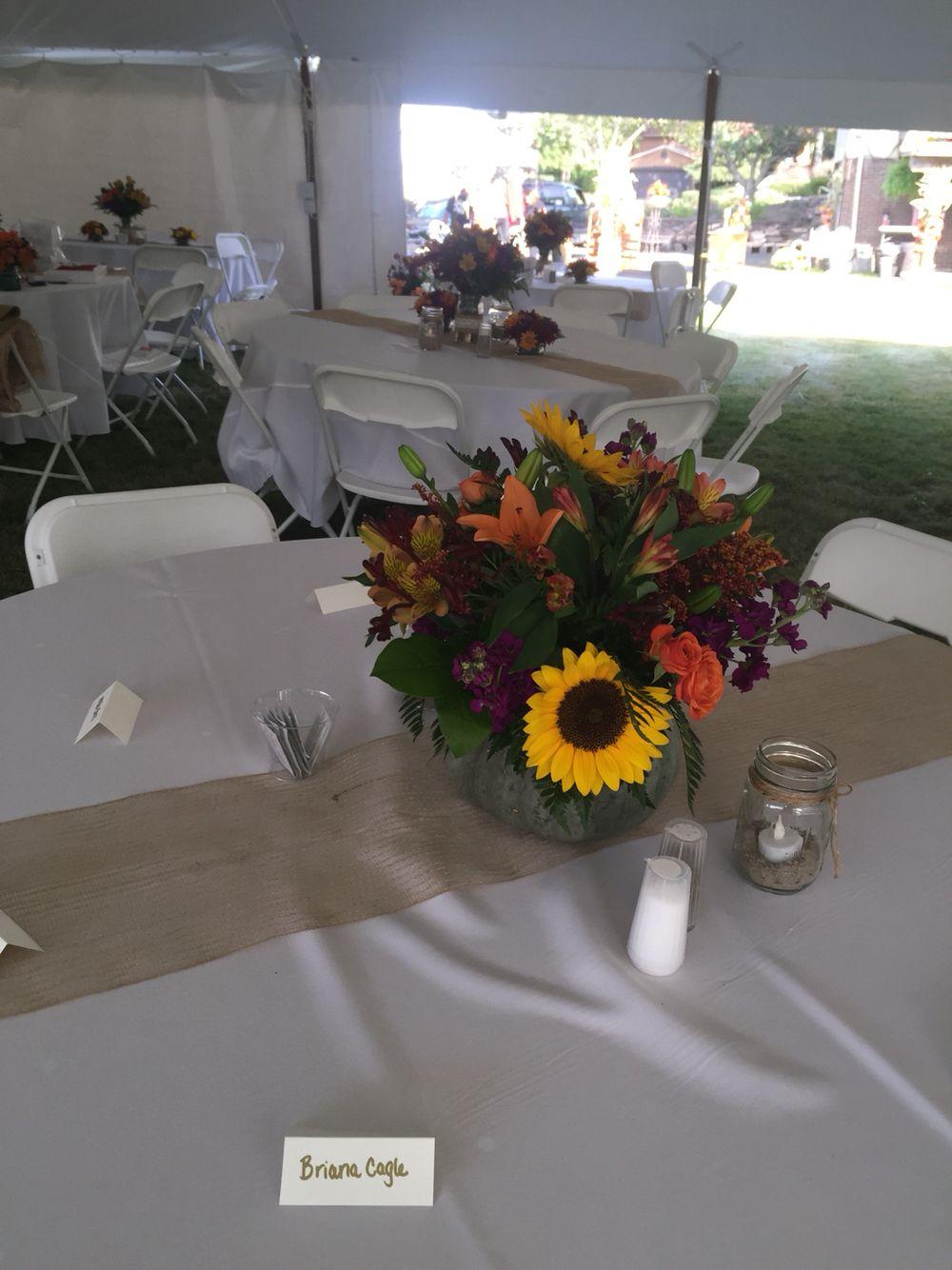 Weddings centerpiece