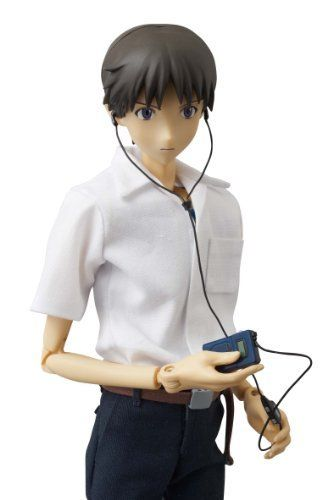 "Medicom Toy Rebuild Of Evangelion Real Action Heroes No. 584 ""Shinji Ikari"" (Japan Import) by Animewild. $200.66. Officially Licensed. Medicom Toy Rebuild Of Evangelion Real Action Heroes No. 584 ""Shinji Ikari"" (Japan Import)"
