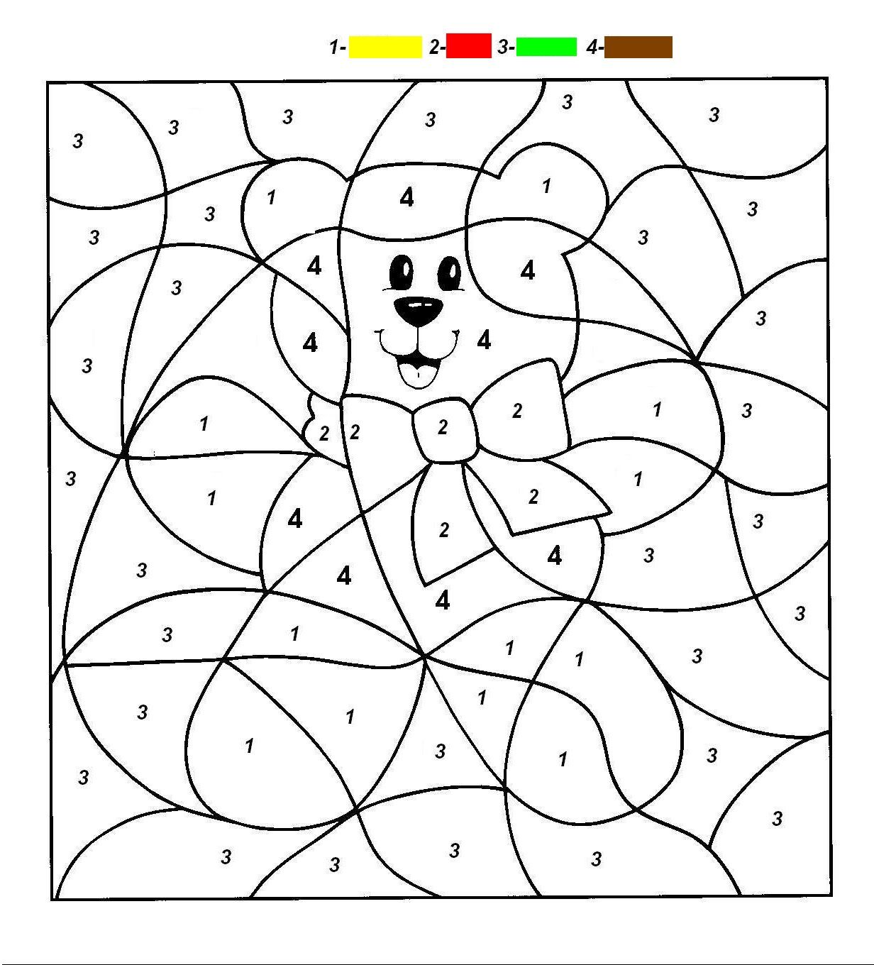 27 Inspiration Image Of Printable Number Coloring Pages