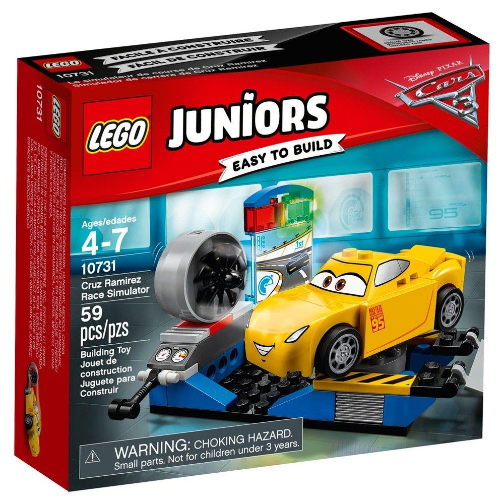 LEGO Juniors Disney Pixar Cars 3 Cruz Ramirez Race
