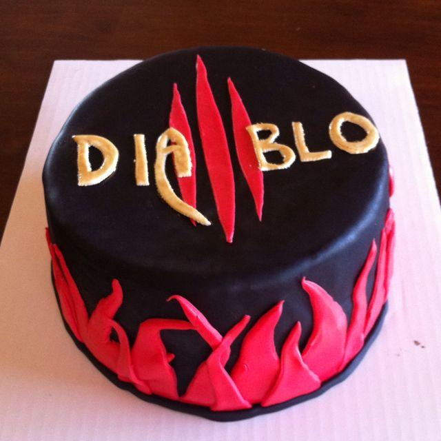 Diablo 3 Cake Cake Design For Men Cupcake Cakes Cake