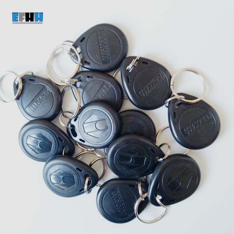 125khz Tk4100 Em4100 Id Keyfobs Rfid Key Tag Read Only Key Ring In Access Control Card Rfid Access Control Key Tags