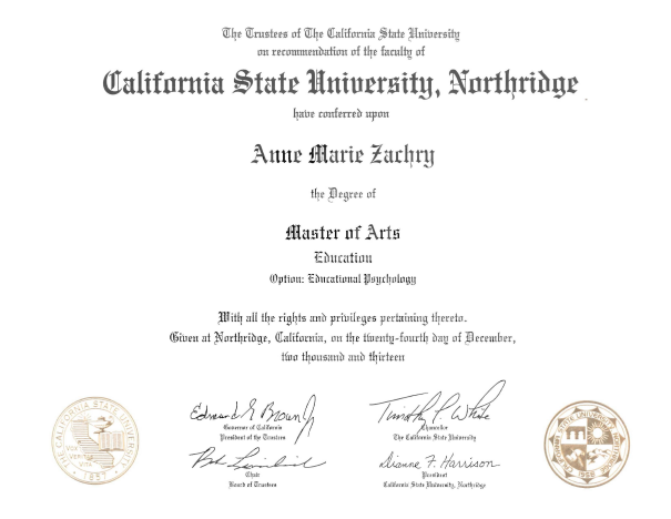 Master of Arts (MA) in Psychology with an emphasis in Counseling Psychology
