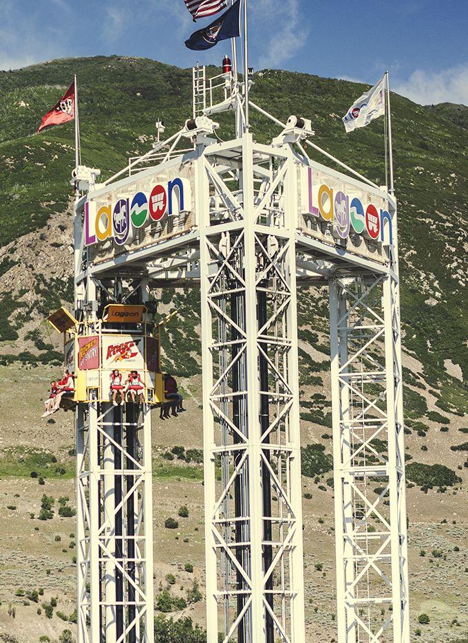 Let Fun Reign Lagoon Park Lagoon Amusement Park Ogden Utah