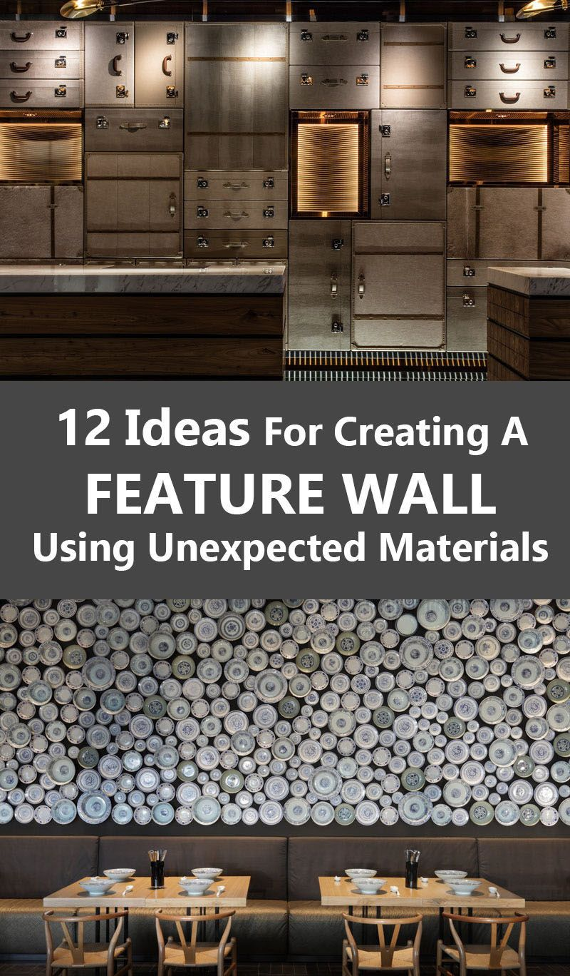 21 Easy Unexpected Living Room Decorating Ideas: 12 Ideas For Creating An Accent Wall Using Unexpected