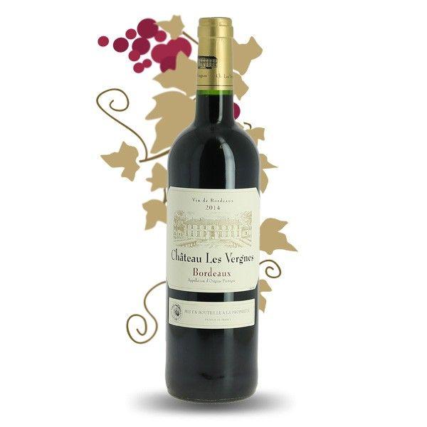 Chateau Les Vergnes Bordeaux Rouge Bordeaux Vin De France Vin