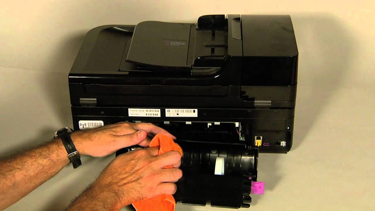 Fixing Paper Pick Up Issues Hp Officejet 6500a Plus E All In One Printer E710n Hp Printer Hp Officejet Wireless Service