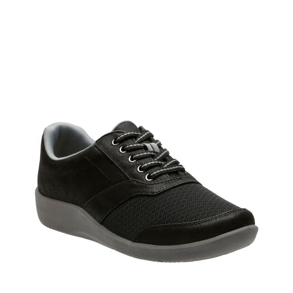 Sillian Emma Black Synthetic womens-casual-shoes