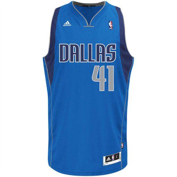 Dirk Nowitzki Dallas Mavericks Blue Swingman NBA Jersey