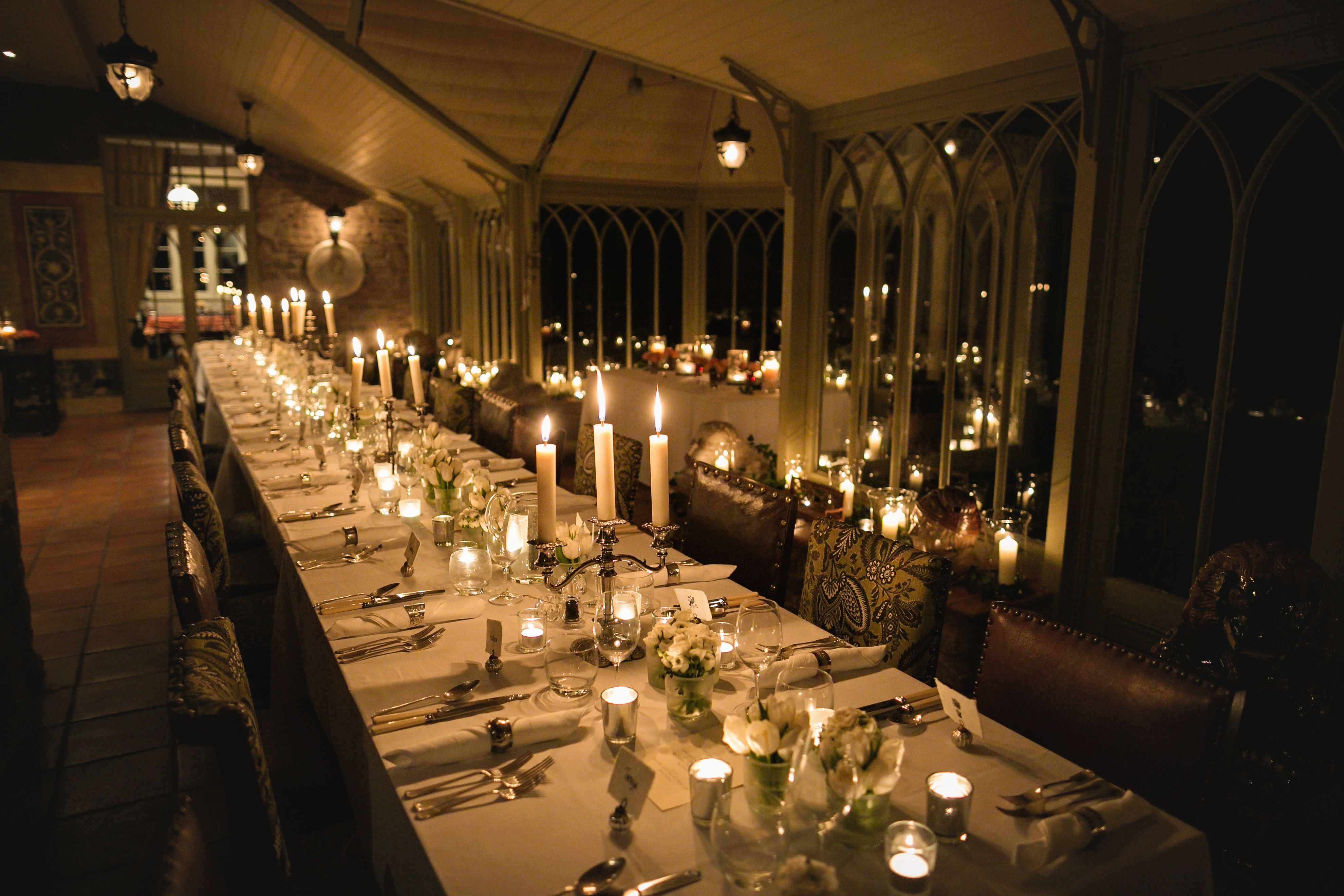 Enjoy A Candlelit Wedding Reception Inside The Spectacular