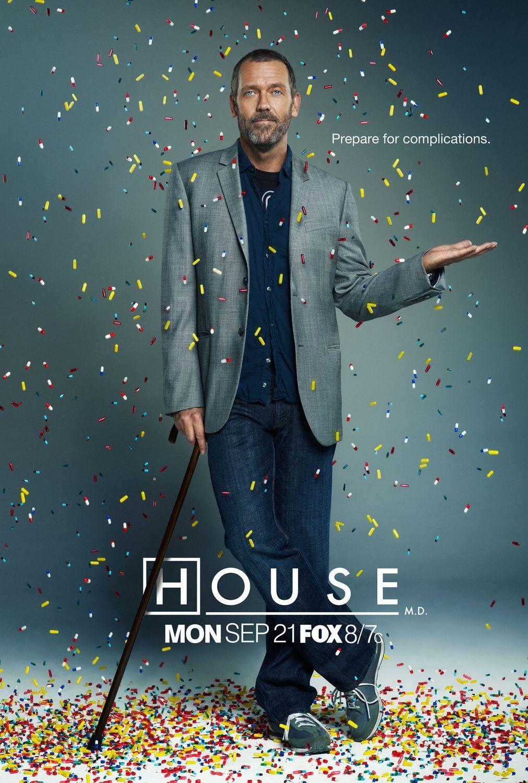 dr. house - staffel 1 - poster - fe-filmdatenbank | dr. house