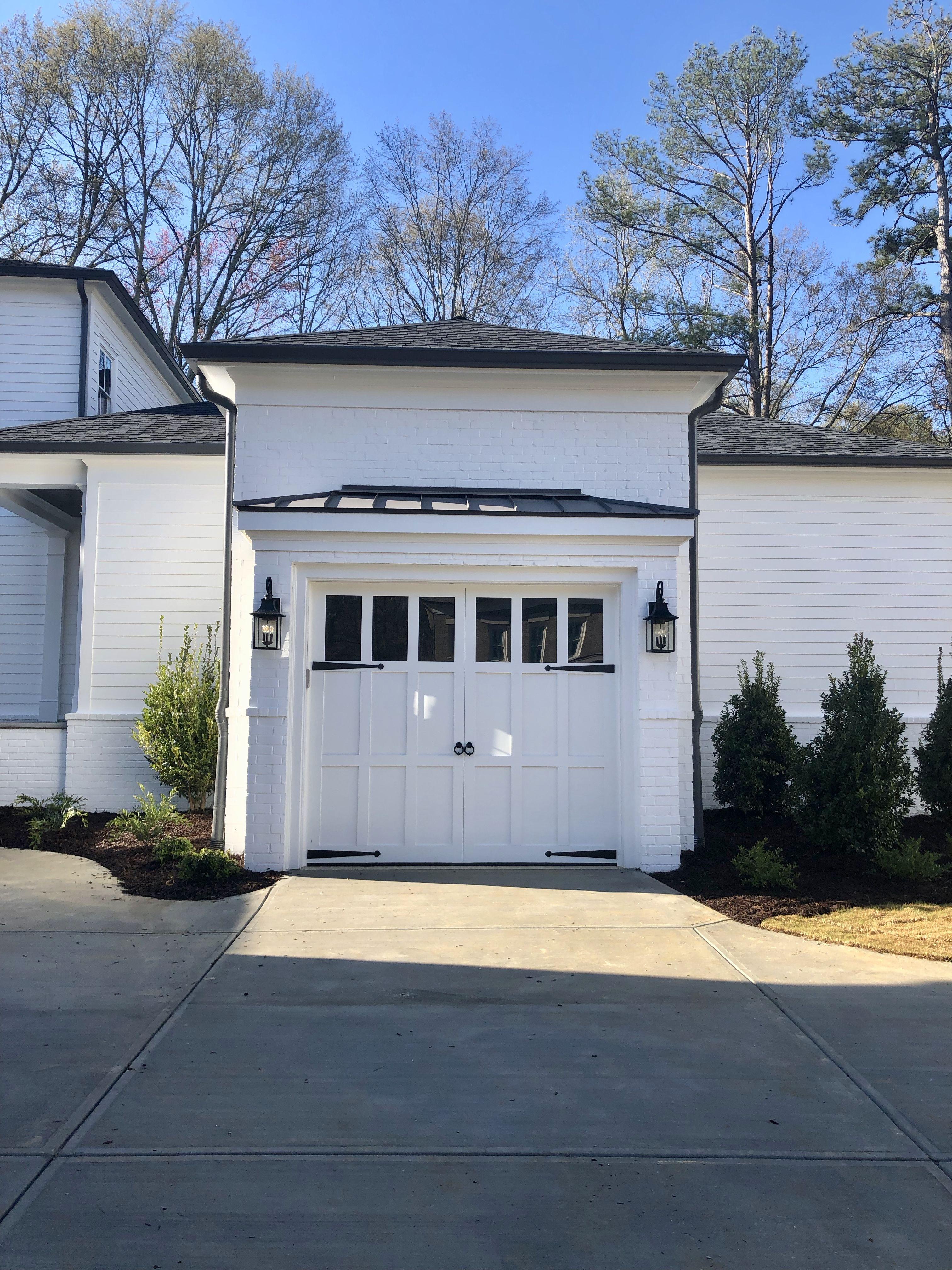 White Garage Doors White Garage Doors Garage Door Design