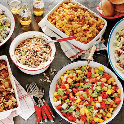 Backyard Bbq Menu Ideas best recipes for a backyard barbecue spicy shrimp and sausage skewers best cheap Bbq Side Dish Smackdown