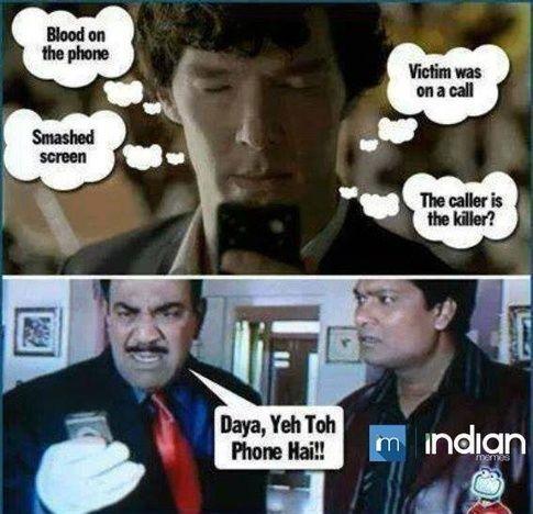 11 Reasons Why Hollywood Serials Are Better Than Hindi Serials Really Funny Memes Very Funny Jokes Latest Funny Jokes