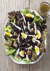 salade geroosterde biet zonder suiker