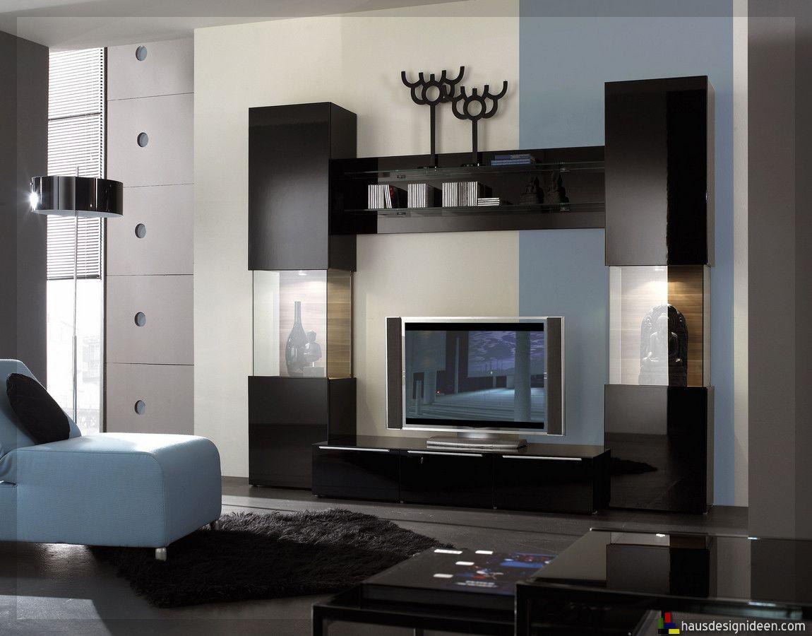 Wohnzimmer Wandschrank-8  Modern wall units, Living room wall