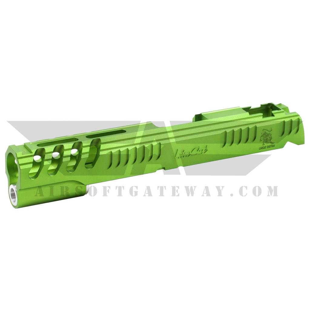 Airsoft MasterPiece Limcat Slide for Tokyo Marui Hi-Capa 5 1 - Lime