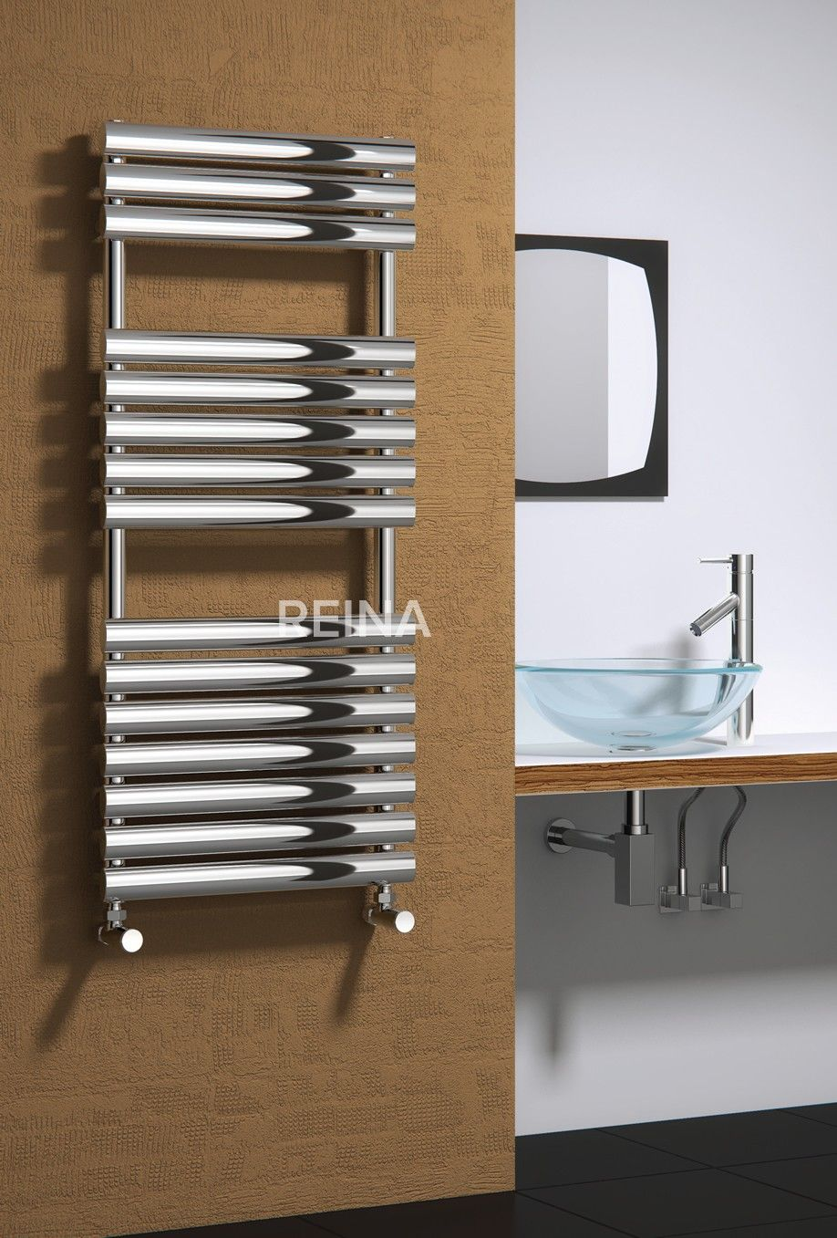 Reina Helin Stainless Steel Heated Towel Rails Stainless Steel Bathroom Towel Rail