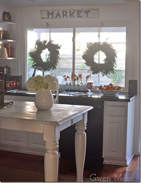 Gwen Moss: a Christmas cottage kitchen tour-before and after