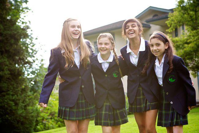 Losing students to private schools is a 'myth' | All girls school, School  tops, School uniform
