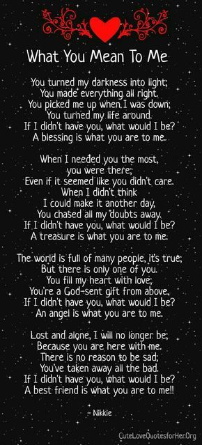 i love you forever and always poems