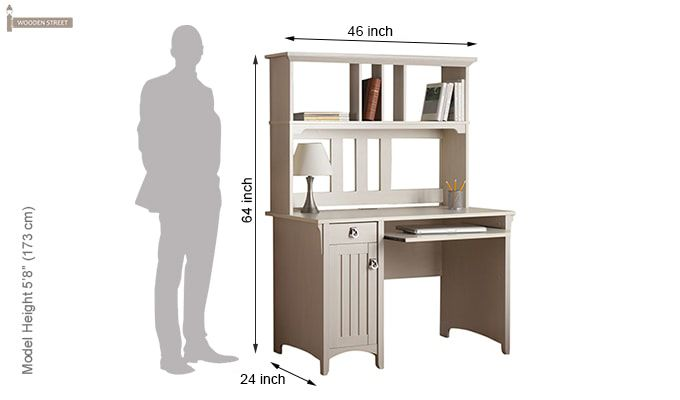 Study Table Shelf Dimension