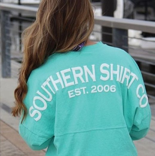 I need this spirit jersey from the Southern Shirt Co.  #spiritjersey #preppy