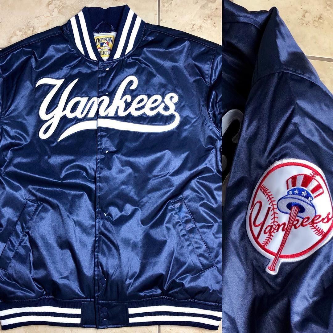 Authentic Satin Jacket Size Xl 1999 New York Yankees Msrp 200 Auction Starts At 135 Tag A Yankees Fan New York Yankees Yankees Varsity Jacket
