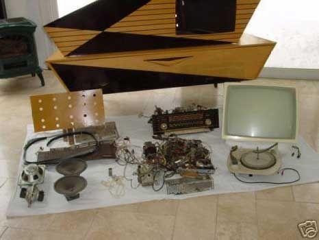 Kuba Komet, electronics removed.