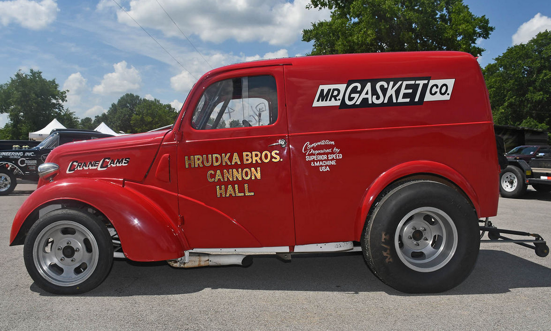 street legal 1953 Ford Thames Panel A Gasser | Hot rods, Bowling ...