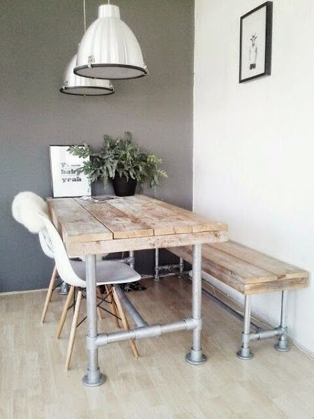 Banco para el comedor | Deco | Dining, Dining room y Kitchen