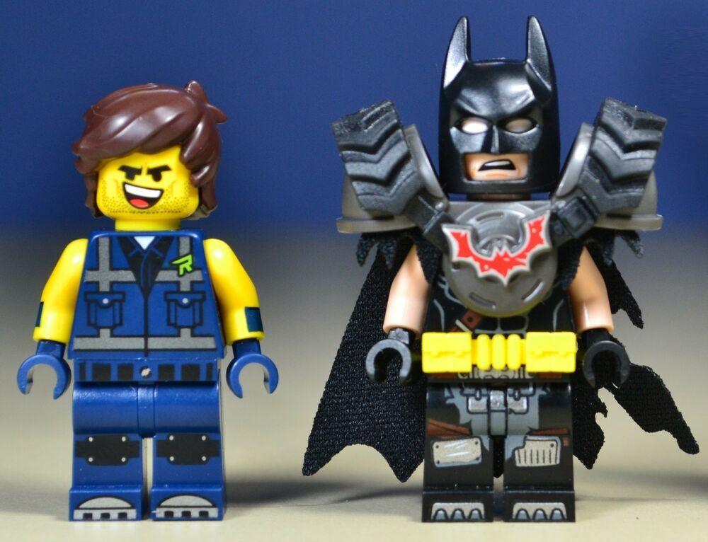 Lego The Lego Movie 2 Batman and Rex Minifigures 2019