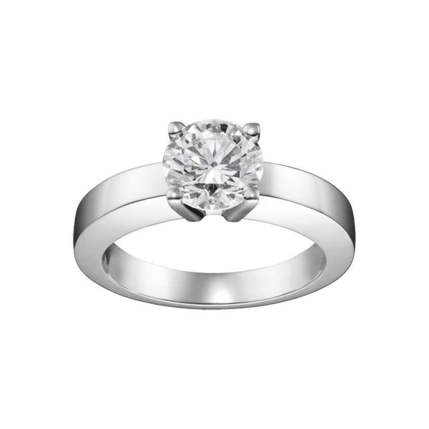 acquista il più recente allacciarsi dentro vendita outlet Anelli di fidanzamento collezione Bridal Cartier - Solitario ...