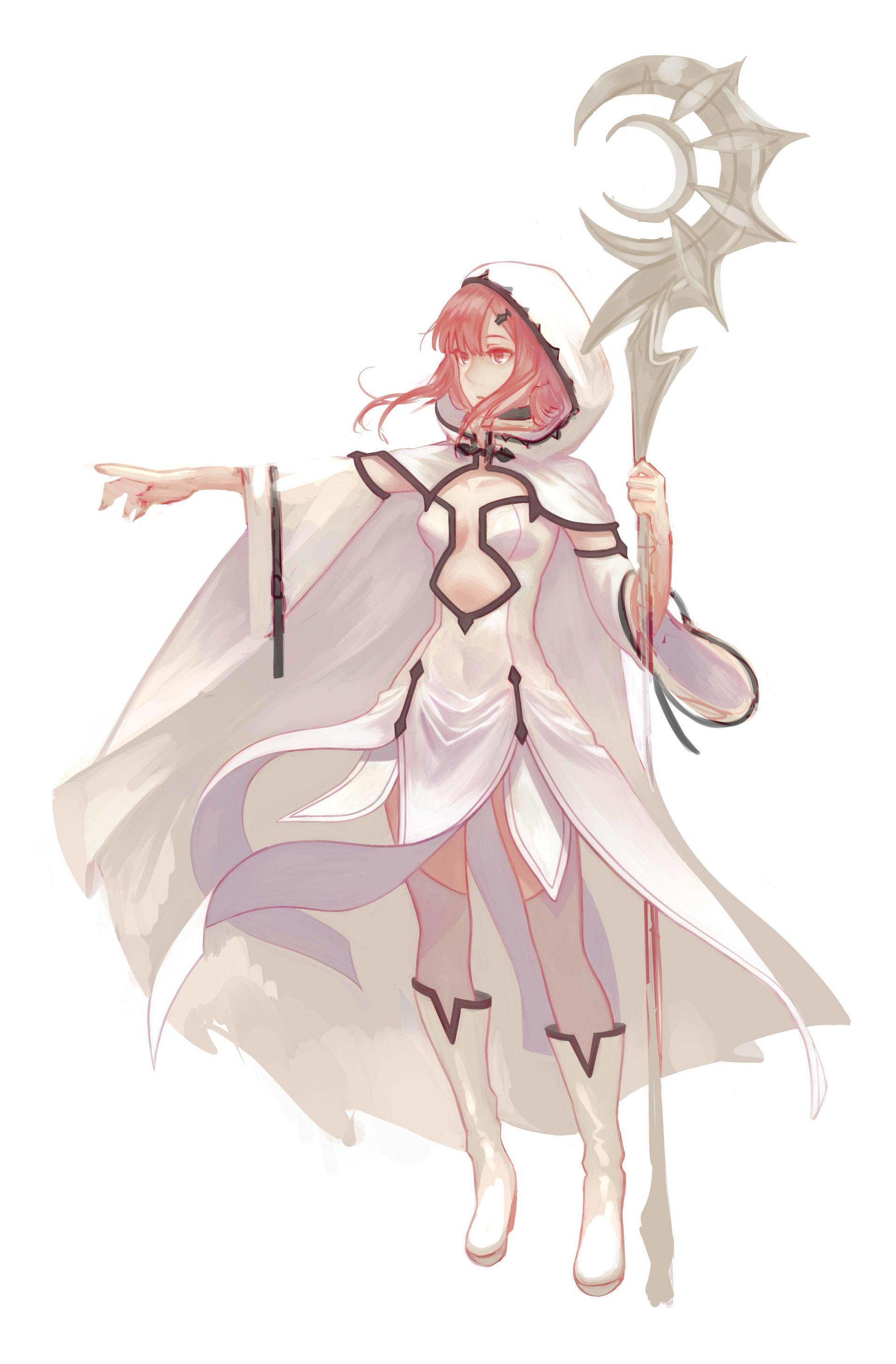 ArtStation Character Designs, Vanessa Giovannini Anime