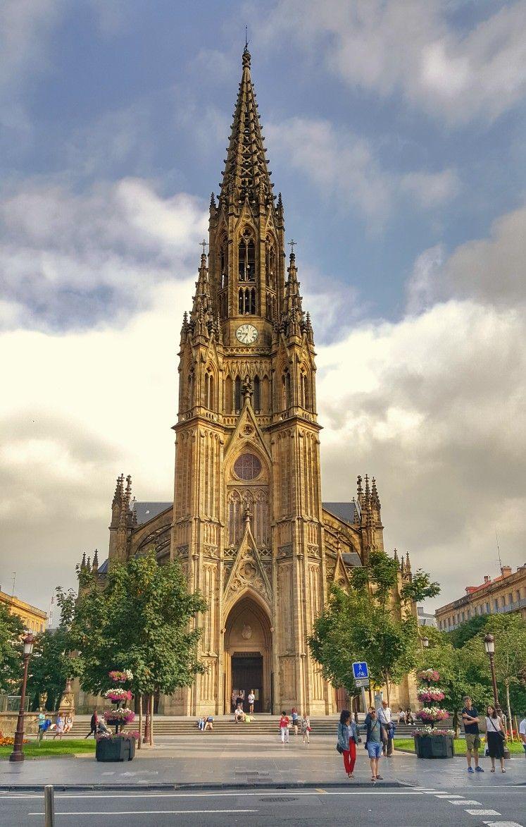 Catedral del Buen Pastor, San Sebastián (con imágenes) | Catedral ...