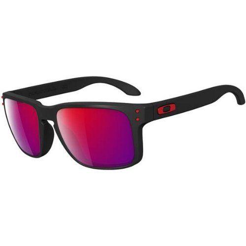 8aacaf2d401d3 Oakley HOLBROOK- Matte Black Positive Red Iridium  130   LENTES ...