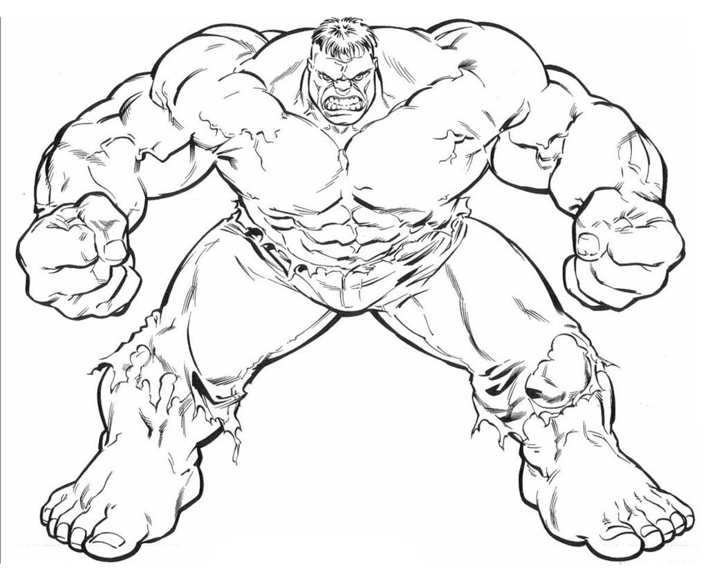 http://colorings.co/the-hulk-coloring-pages/ | Colorings | Pinterest ...