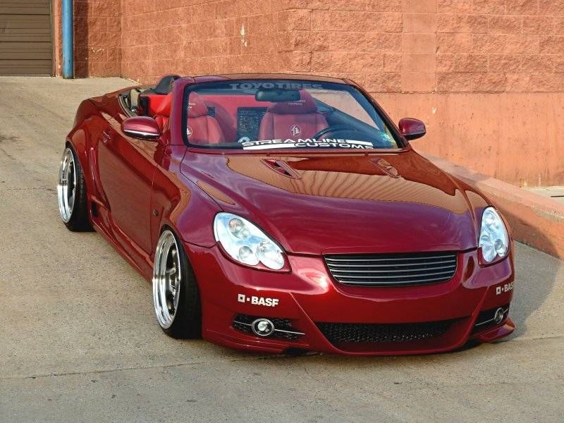 NJ SC430 Custom Vented Hood - ClubLexus - Lexus Forum
