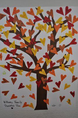 Adapt This Gratitude Tree Idea Into A Giving Tree Family